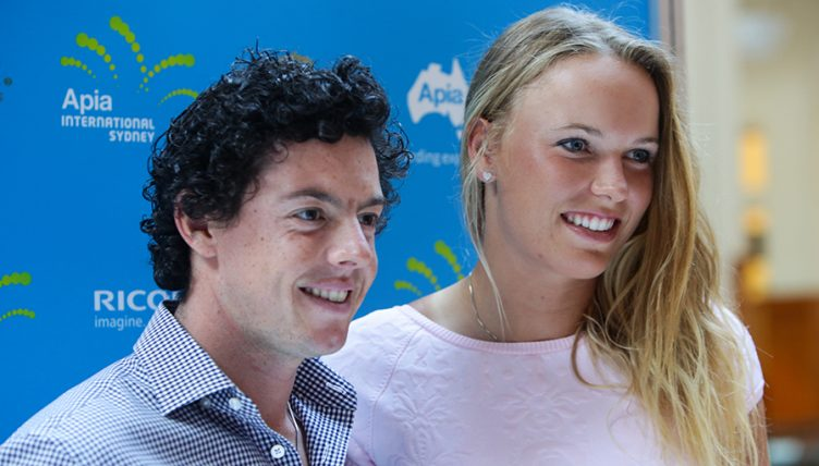 Rory mcilroy dating tennis player