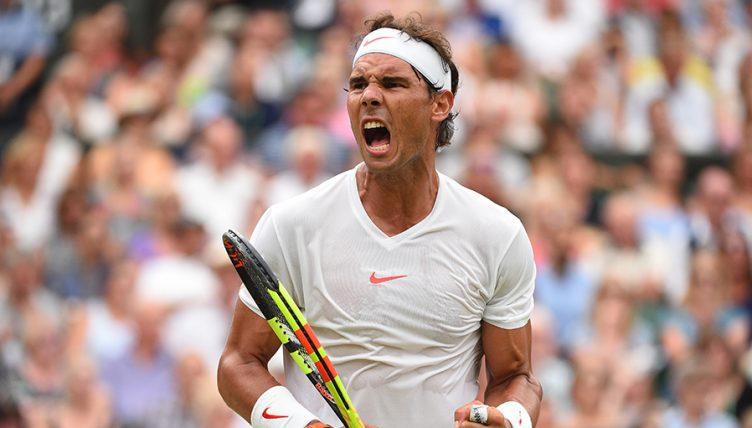 Rafael Nadal at Wimbledon PA
