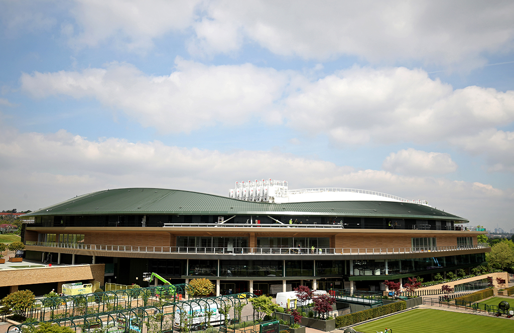 Gallery: Wimbledon looking stunning as it shows off Court ...