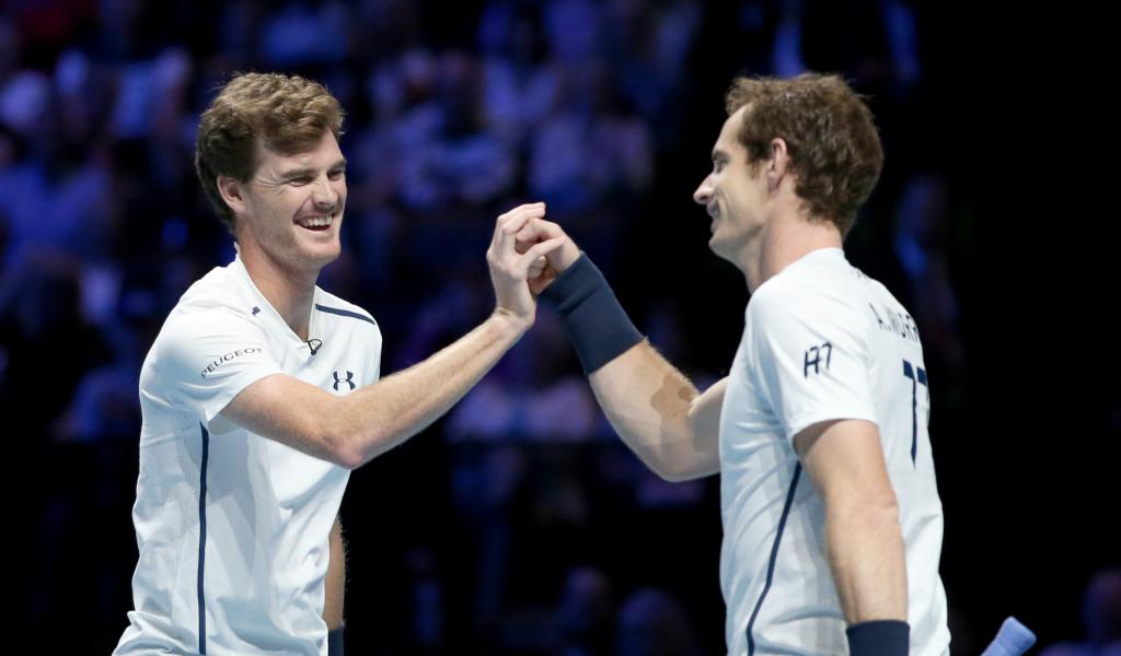 Jamie Murray and Andy Murray