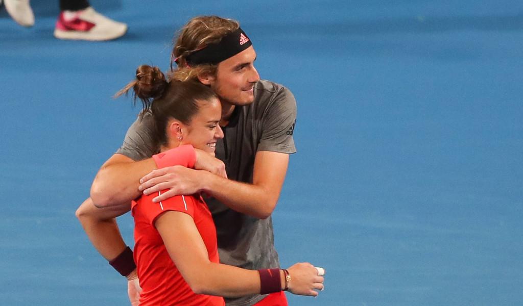 Tennis Today Greece Is The Word As Maria Sakkari And Stefanos Tsitsipas Taste Success Tennis365 Com