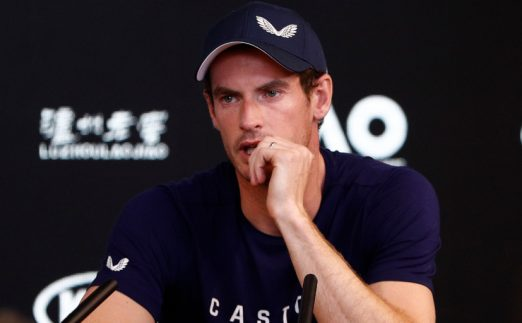 Andy Murray presser