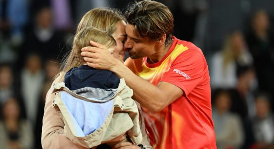 David Ferrer and family