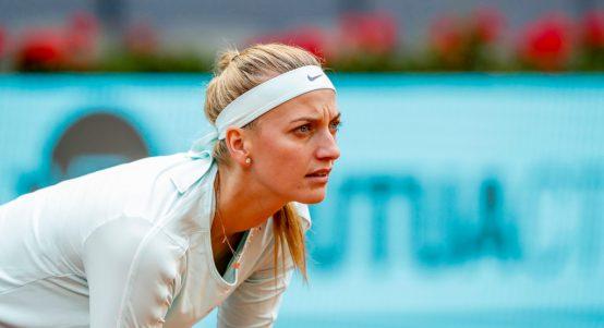 Petra Kvitova in action