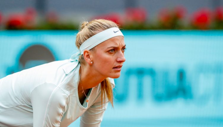 Petra Kvitova in action