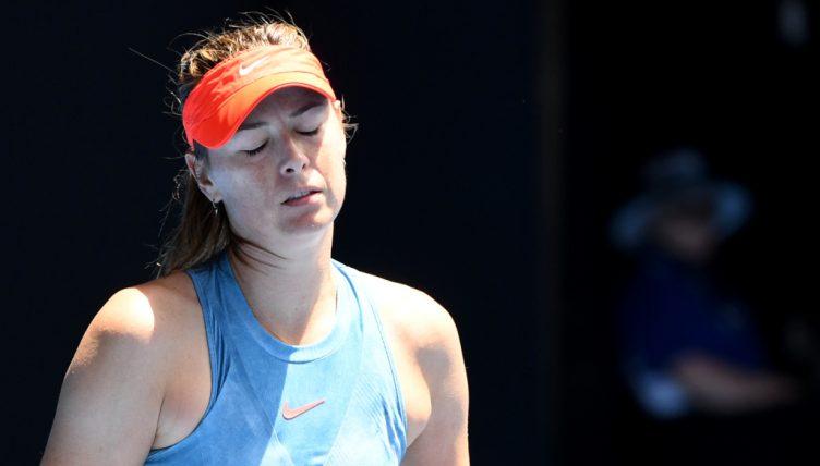 Maria Sharapova downbeat