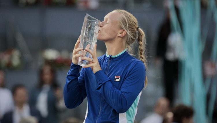 Kiki Bertens Madrid Open