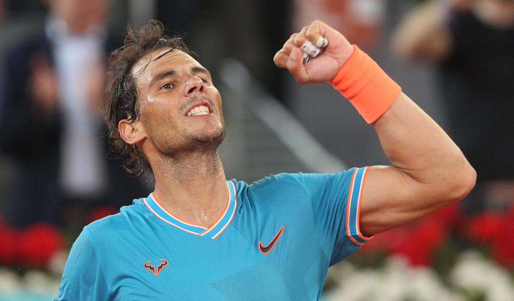 Rafael Nadal fist pump
