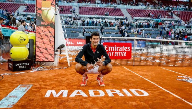 Novak Djokovic Madrid Open champion
