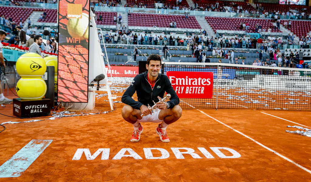 Novak Djokovic Madrid Open champion