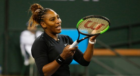 Serena Williams reaction