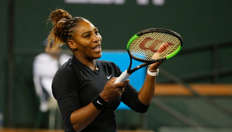 Serena Williams reaction
