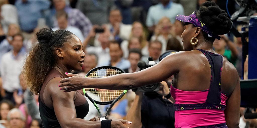 Venus and Serena Williams PA