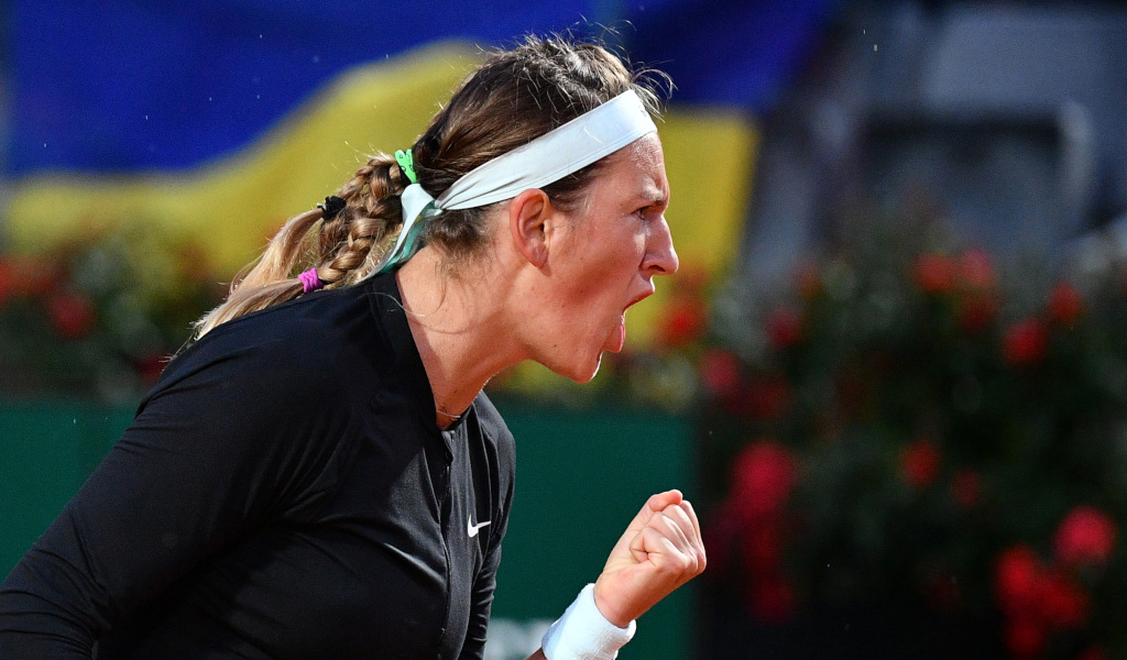 Victoria Azarenka delighted
