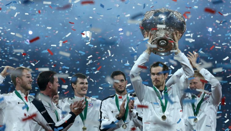 Andy Murray Davis Cup champion