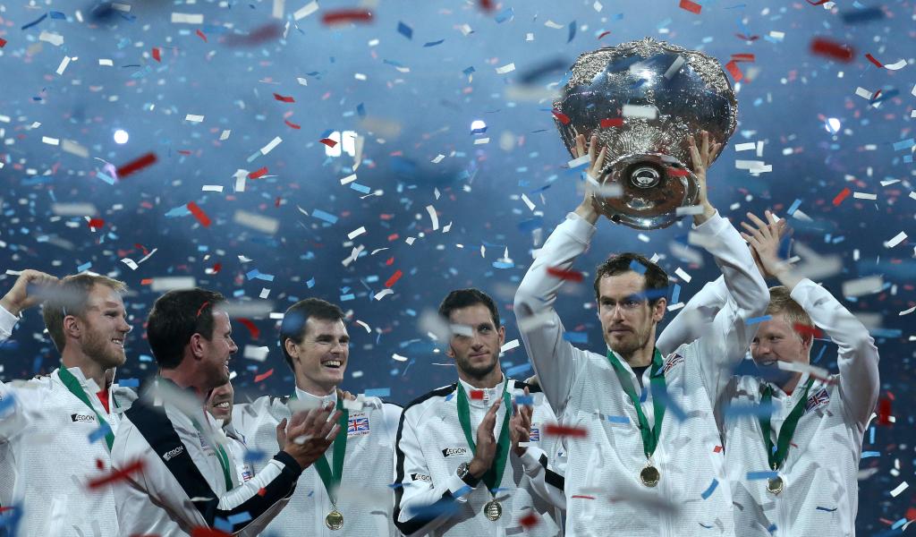 Andy Murray Davis Cup champion