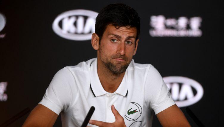 Novak Djokovic press conference