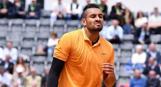 Nick Kyrgios raging PA