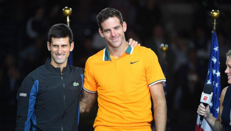 Novak Djokovic and Juan Martin del Potro