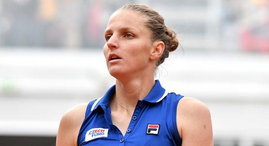 Karolina Pliskova at Italian Open PA