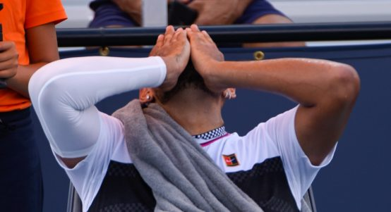 Nick Kyrgios frustrations