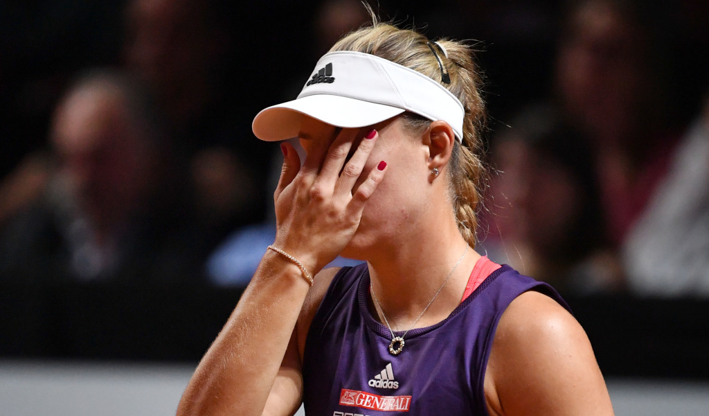 Angelique Kerber disappointed
