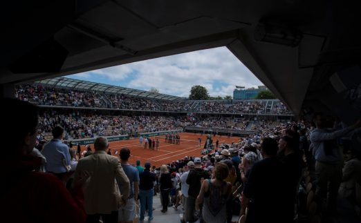 Roland Garros French Open general view
