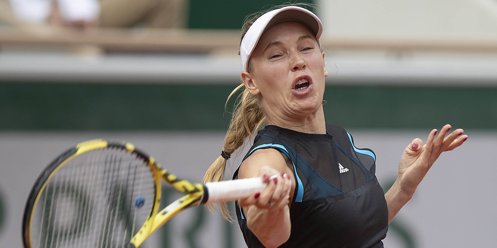 Caroline Wozniacki - early exit at French Open