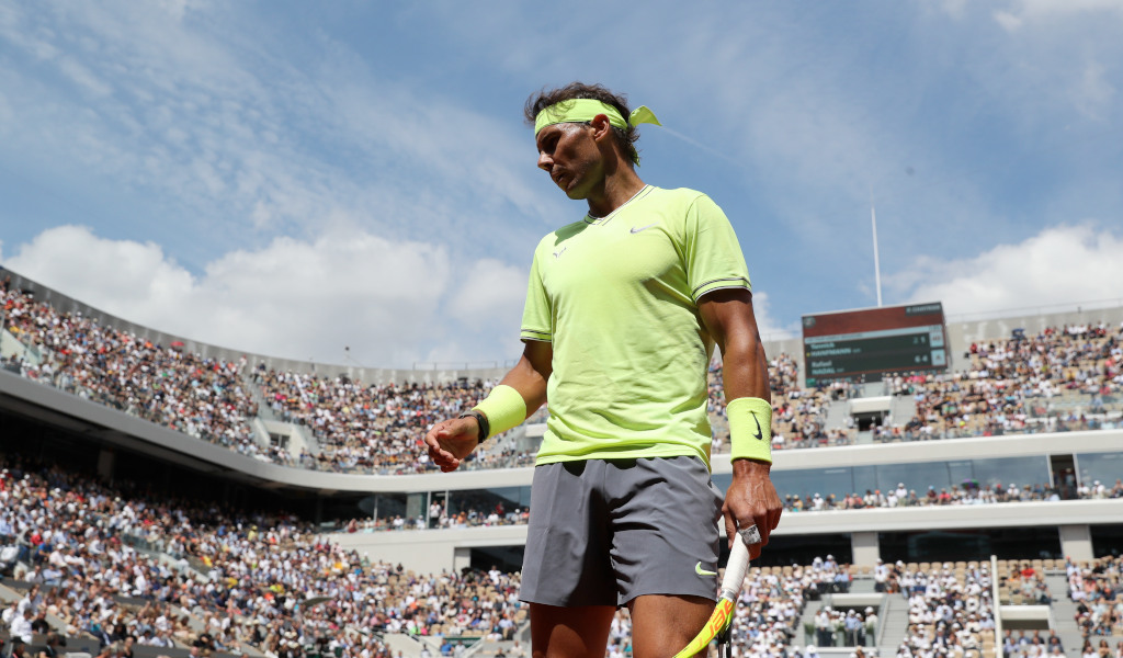 Forget Serena Williams Zebra Outfit Human Highlighter Rafael Nadal Is Raising Eyebrows Tennis365 Com