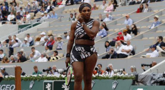 Serena Williams zebra outfit
