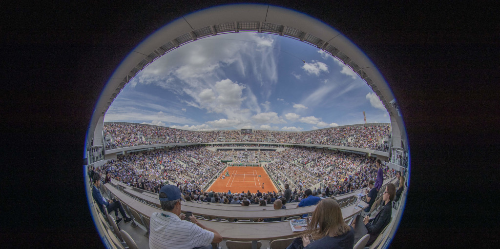 Roland Garros French Open view