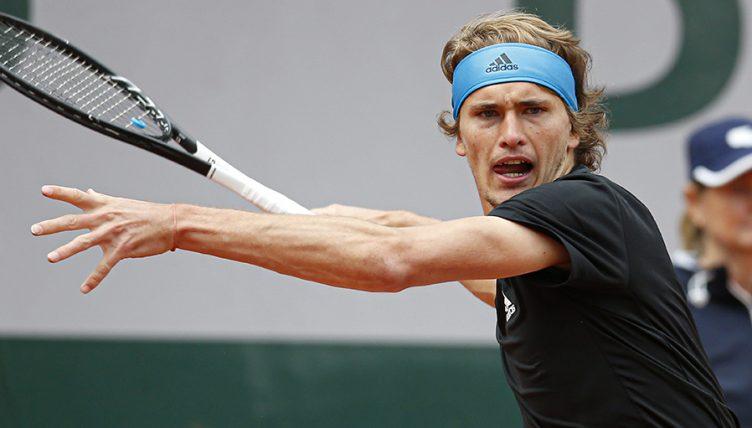 Alexander Zverev at Roland Garros PA