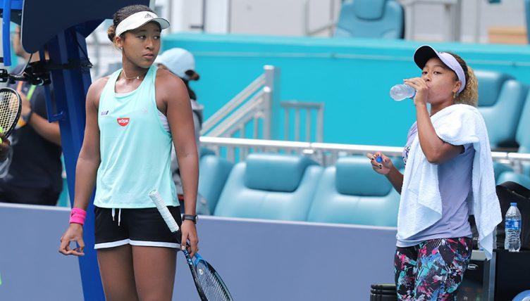 Naomi Osaka and Mari Osaka PA