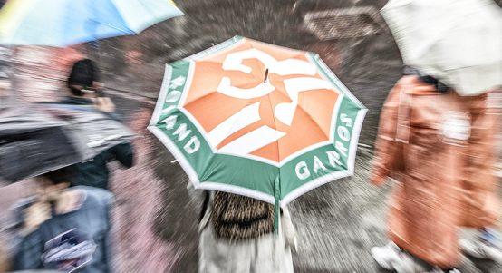 French Open rain PA