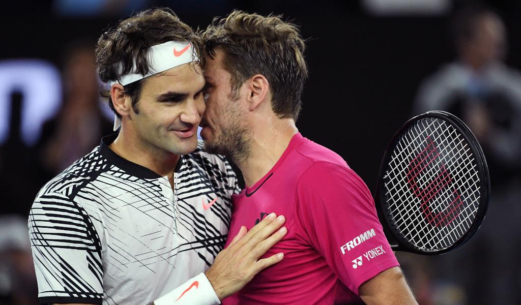Roger Federer and Stan Wawrinka
