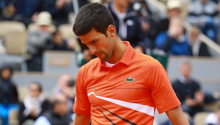 Novak Djokovic defeated at French Open PA