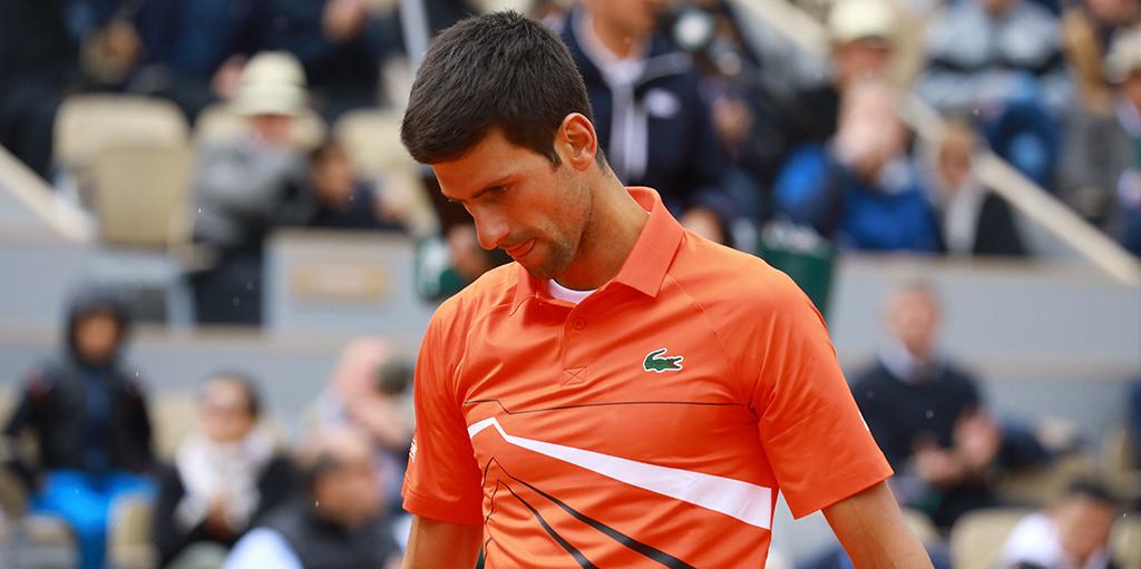 Novak Djokovic defeated at French Open PA
