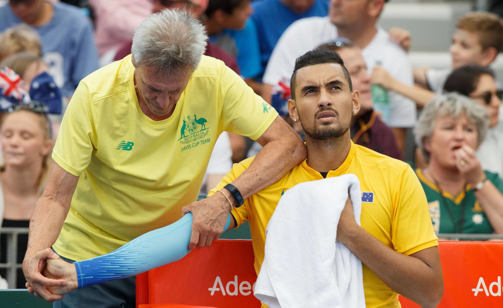 Nick Kyrgios injured