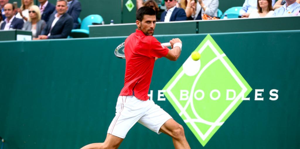 Novak Djokovic at The Boodles