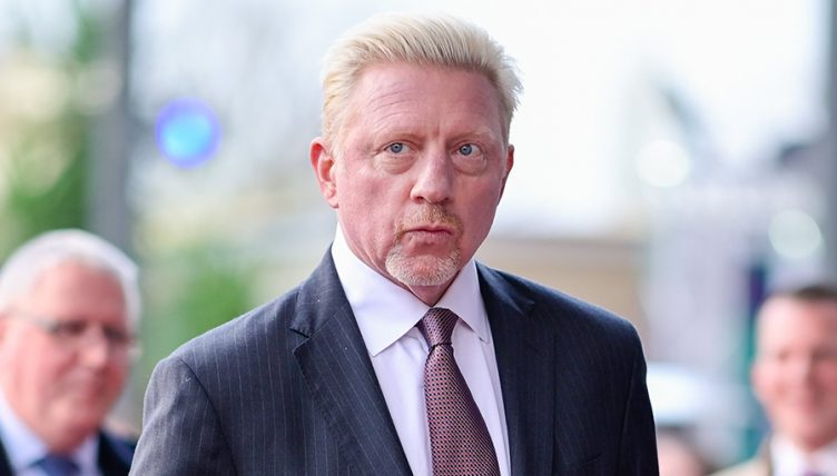 Tennis legend Boris Becker