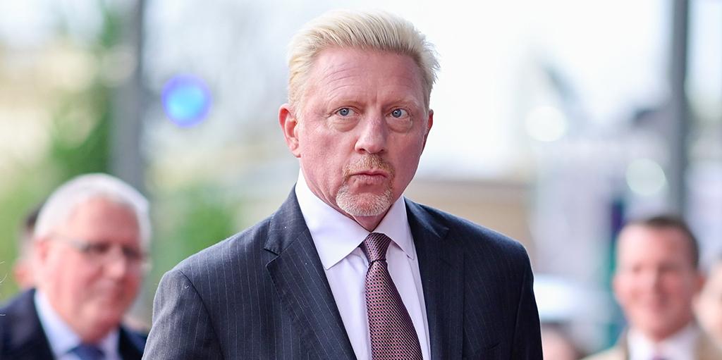 Tennis legend Boris Becker