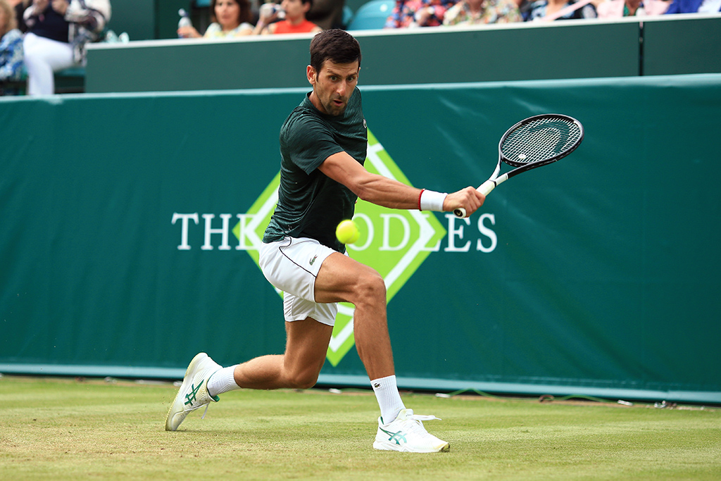 Novak Djokovic at the Boodles