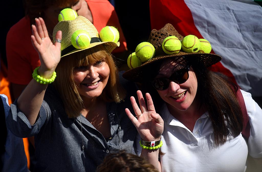 Wimbledon crowd pics 1