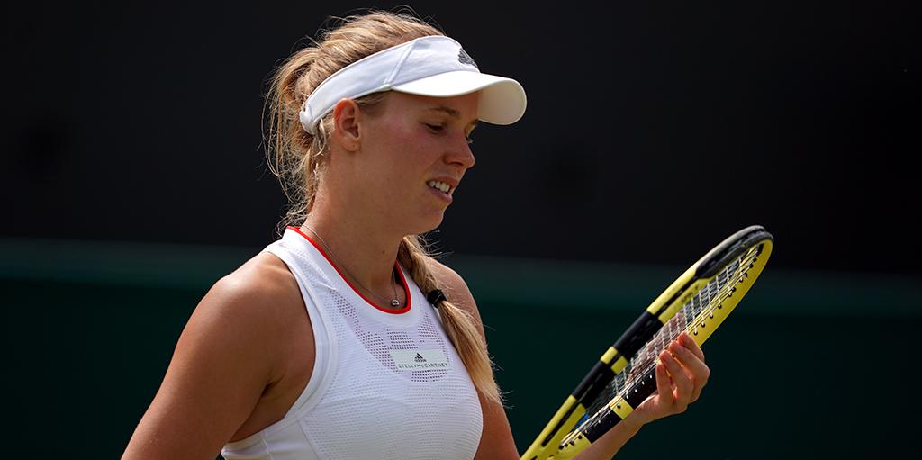 Caroline Wozniacki unhappy at Wimbledon