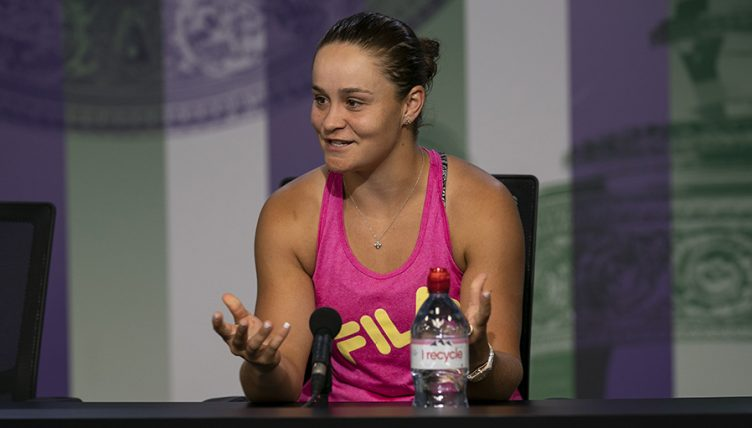 Ashleigh Barty press conference