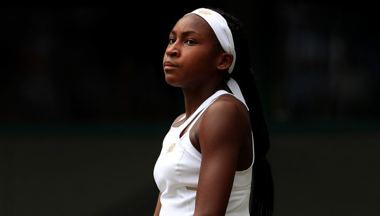 Coco Gauff disappointed at Wimbledon