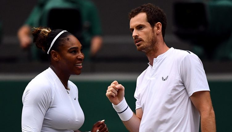 Andy Murray plots with Serena Williams