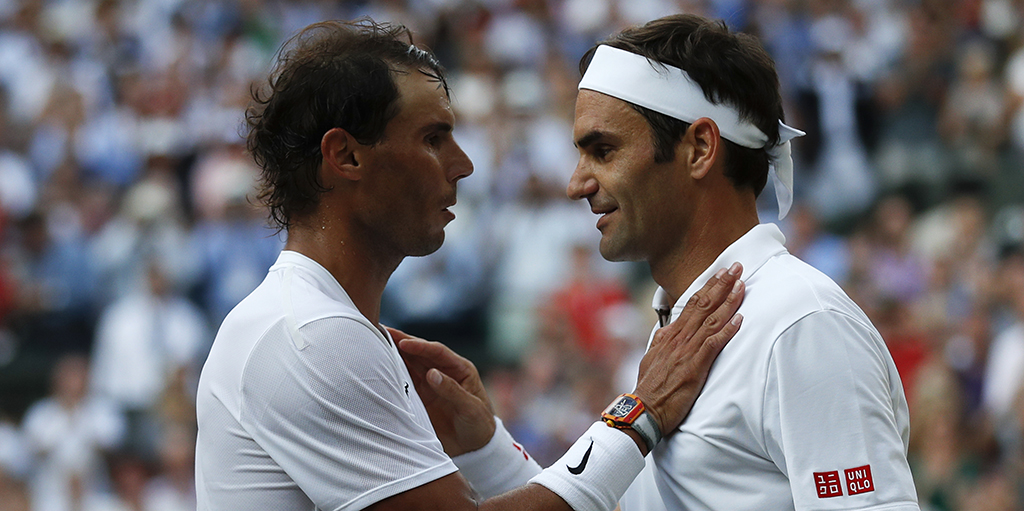 Rafael Nadal On His Bromance With Roger Federer It Is A Rivalry But At The Same Time It Is A Friendship Tennis365 Com