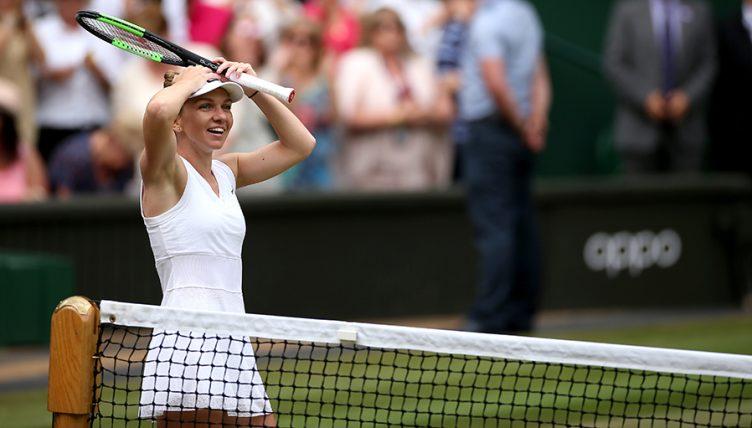 Simona Halep shocked at Wimbledon
