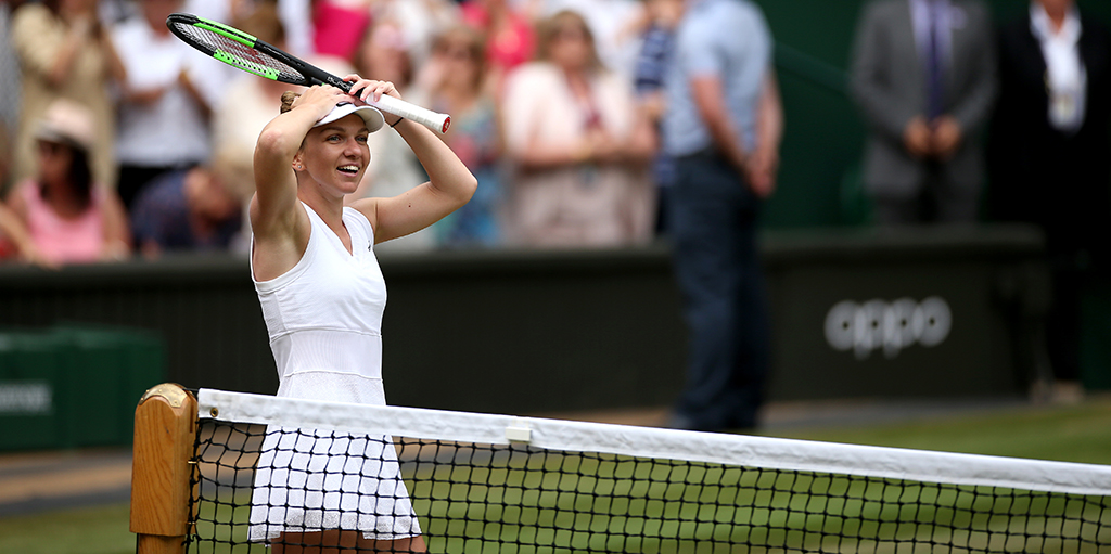 Simona Halep shocked at Wimbledon